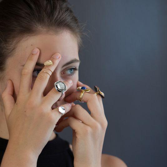 Collection petula bijoux de créateur véronique lelieur
