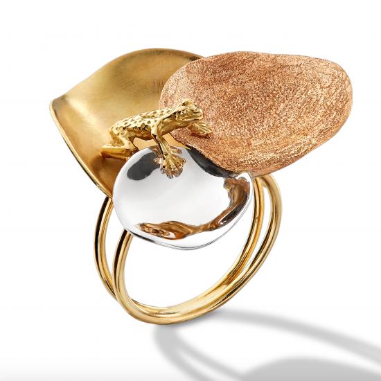 RING Petula - Zenith - with gold 750/1000° - yellow Diamond