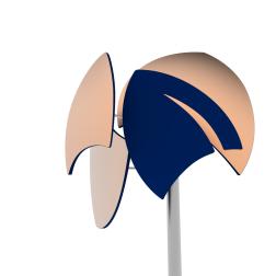 Luminaire VELA7 Romeo Bravo Golf de Lelieur createur joaillier designer