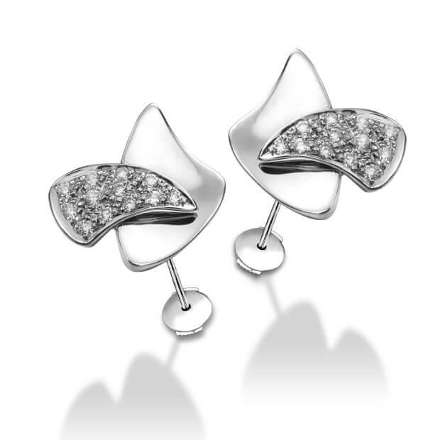 vela7 Collection Boucles d'oreilles Alpha Charlie Diamants